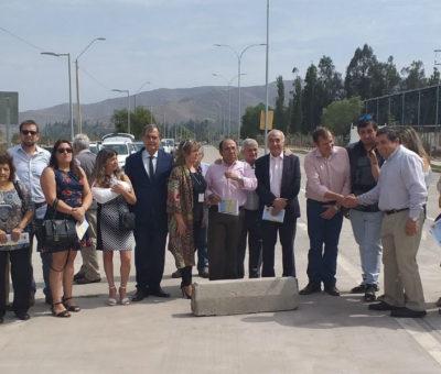 Nueva Avenida Hermanos Carrera Norte en San Felipe fue abierta al uso público