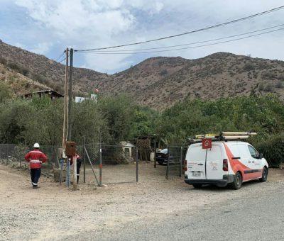 Un vecino y un perro sufren descarga eléctrica en Rejas energizadas en sector La Higuera en Santa María
