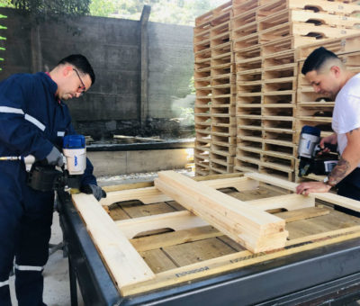 Fábrica de Pallets funcionará al interior de Unidad Penitenciaria en Putaendo