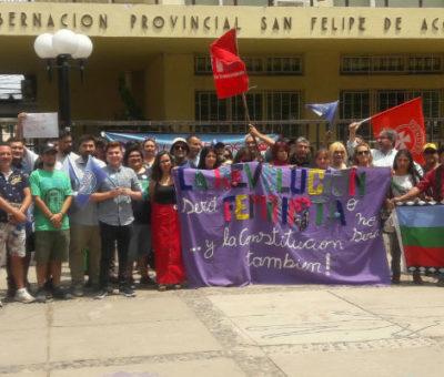 """Lanzan campaña """"Aconcagua se une por una nueva Constitución"""""""
