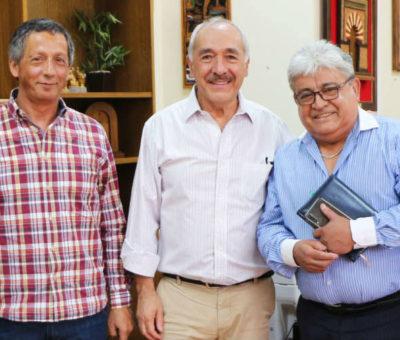 Municipio y Cámara de Comercio acuerdan impulsar trabajo para repotenciar el centro de San Felipe
