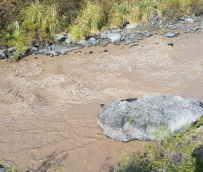Esval mantiene Alerta Amarilla para Los Andes por turbiedad del agua en el río Aconcagua