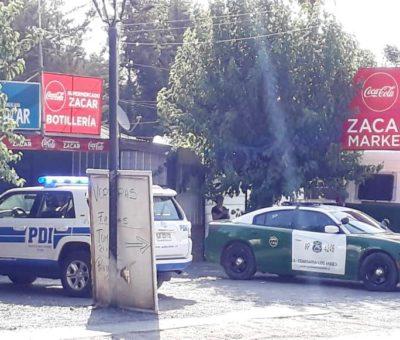 Con golpes de pack de cervezas dan muerte a joven en supermercado en Los Andes