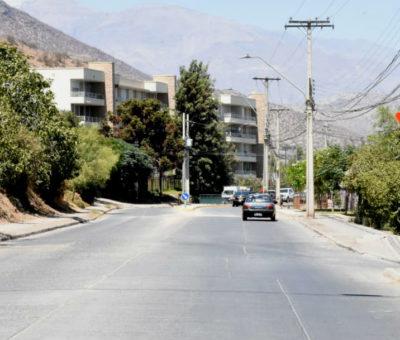 Cierran por tres días tramo de Avenida Pascual Baburizza en Los Andes