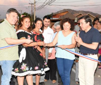 Inauguran pavimentación asfáltica de Calle Béjares que une Los Andes y Calle Larga