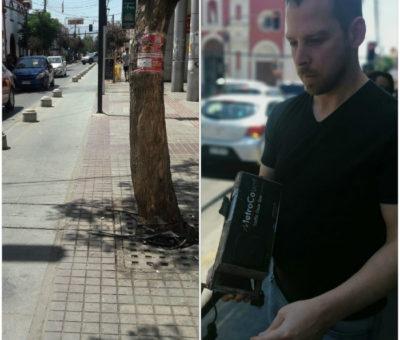 Municipalidad de San Felipe aclaró que Contador de bicicletas en ciclovía de Prat fue retirado y no robado