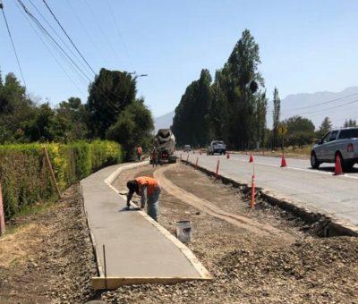 MOP ejecuta obras por más de $4 mil millones en Panquehue