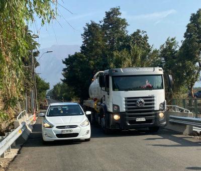 A punto de culminar construcción de nuevo puente Palayanque en Panquehue