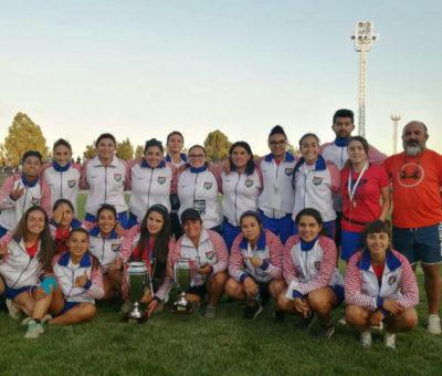 Rinconada obtuvo el 3° Lugar en el primer Campeonato Nacional de Fútbol Femenino