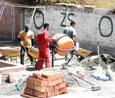 140 millones invierten en instalación de tensoestructuras en patios de colegios municipales de Los Andes