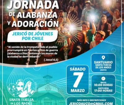 Santuario de Santa Teresita en Auco será sede de Jericó de jóvenes por Chile