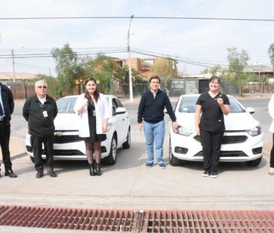 Municipio andino entrega automóviles a Cesfam para atender a pacientes postrados en sus domicilios