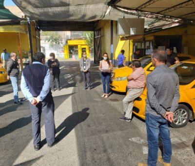Municipalidad de San Felipe insta a conductores de taxis colectivos aplicar medidas para prevenir contagio del Covid-19
