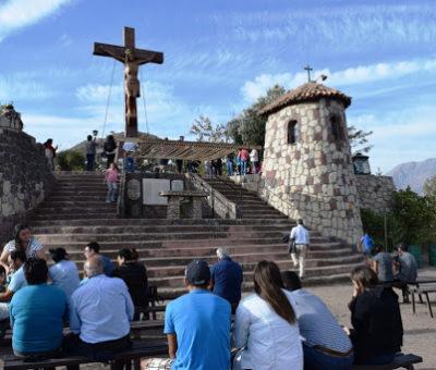 En Putaendo cierran visitas al Cristo de Rinconada de Silva y suspenden vía Crucis de Semana Santa