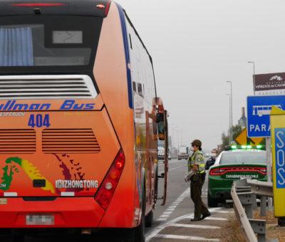 Primera contagiada con Covid-19 en San Esteban activó protocolo por viaje en Pullman Bus a Santiago