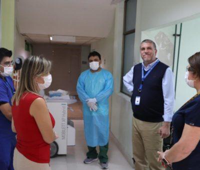 Partió atención de nuevo servicio de urgencia respiratoria en el Hospital San Camilo de San Felipe