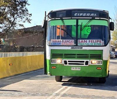 Abrieron al tránsito vehicular nuevo puente de Tierras Blancas en San Felipe